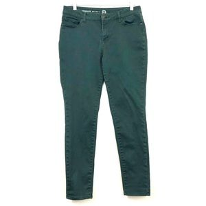 Westport 1962 Dress Barn Green Skinny Jeans
